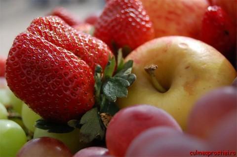 Fructe şi legume ionizate